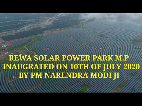 Rewa solar power plant