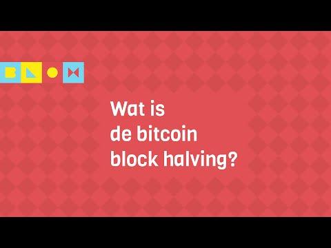 Wat is de bitcoin halving? Nederlandse uitleg voor beginners