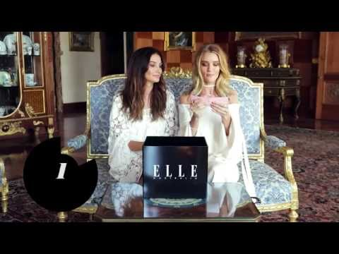 ELLE Mystery Box Challenge: Lily Aldridge and Rosie Huntington-Whiteley
