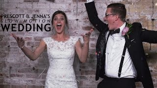 The Slow Motion Booth Presents | Prescott + Jenna's Wedding