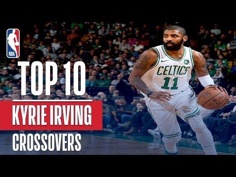 Kyrie Irving Top 10 Crossovers & Handles | 2017-2018 Season