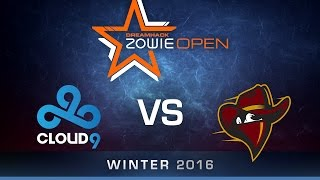 CS:GO - Cloud9 vs Renegades - Group B - Dust2 - DreamHack ZOWIE Open Bucharest 2016