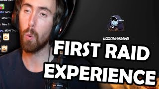 """Asmongold Reactions: """"MY FIRST RAID EXPERIENCE IN WORLD OF WARCRAFT!"""" by Nixxiom"""