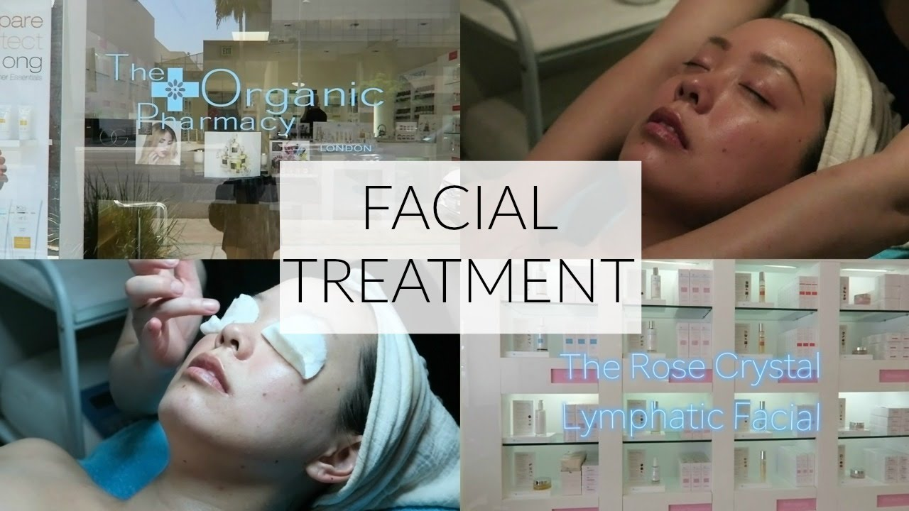 using crystal in a facial treatment