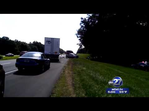 Triple Fatal Accident Blocks Westbound I-10 in Leon County