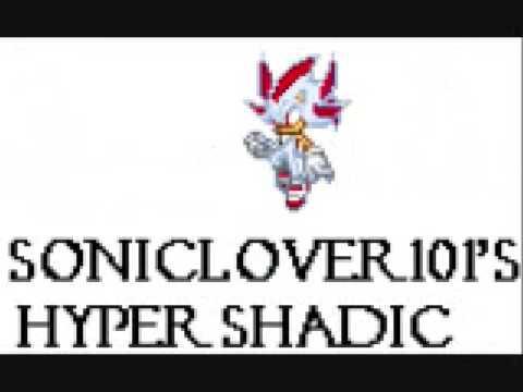 My Hyper Shadic Sprites Youtube