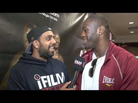 DEONTAY WILDER - 'TYSON FURY IS THE BEST HEAVYWEIGHT IN UK RIGHT NOW' - INTERVIEW FOR iFILM LONDON