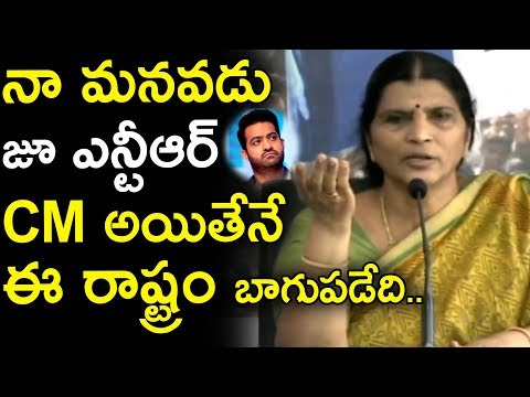 Lakshmi Parvathi wants Jr NTR to become CM | Lakshmi Parvathi Press Meet | Movie Blends