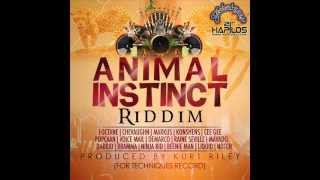 ANIMAL INSTINCT RIDDIM MIXX BY DJ-M.o.M POPCAAN ,MAVADO, KONSHENS, DEMARCO,VOICEMAIL and more