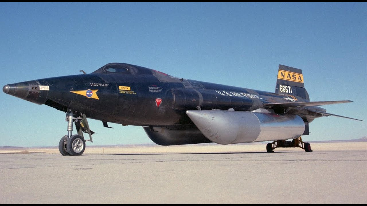 WORLDS FASTEST MACH 6 Aircraft US Air Force X-15 ...