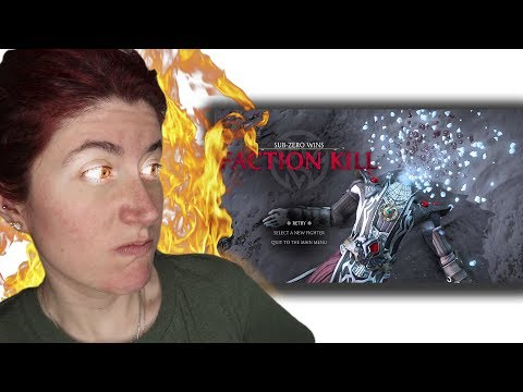 Reacción a las FACTION KILLS de Mortal Kombat X por HELANYAH