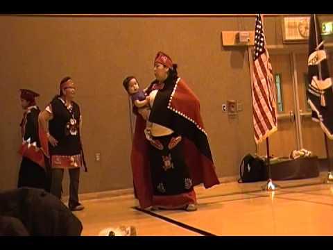 Tlingit Dancers at the Winter Powwow 2014