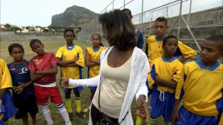 Football helping solve paradise's problems