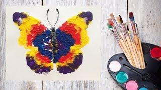 Как нарисовать бабочку! Рисуем с детьми! #Dari_Art(Не знаете как занять вашего непоседа? Думаю такую бабочку сделаете вместе с удовольствием! Для работы..., 2015-06-23T08:46:05.000Z)