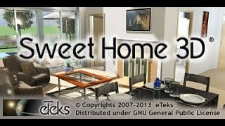 Sweet home 3D: haciendo una casa