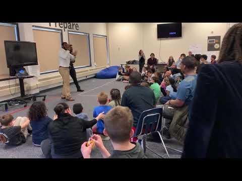 Jonathan Lykes at Kendall Demonstration Elementary School