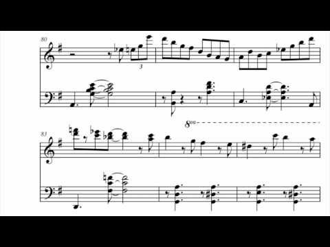 Jazzy Piano Jingle Bells w sheet music