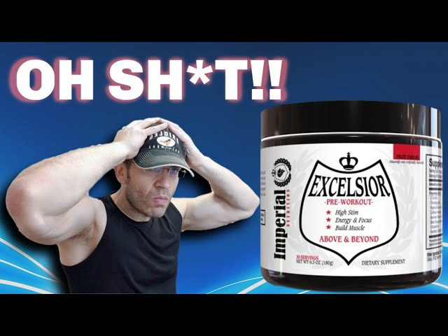 OH MY GOD 😮 Excelsior Pre Workout Review [Imperial Nutrition]