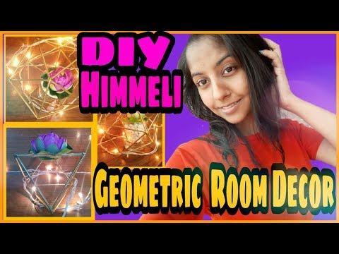 DIY Himmeli | Geometric Room Decor | Trendy Aryz (2018)