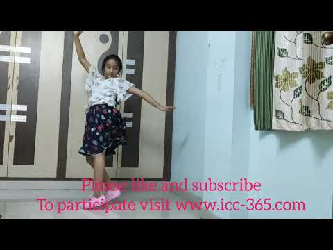 Excellent western dance performance by a cute girl