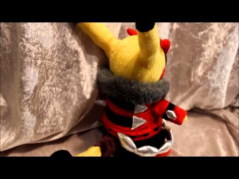 Pokemon - Cosplay Pikachu Rockstar Plush