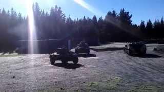 Daimler Ferret Scout Car Mark 1/2 moving off