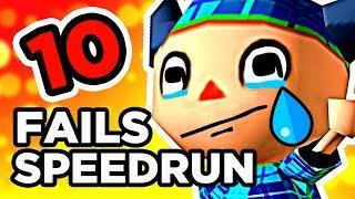 10 FAILS EN SPEEDRUN #2
