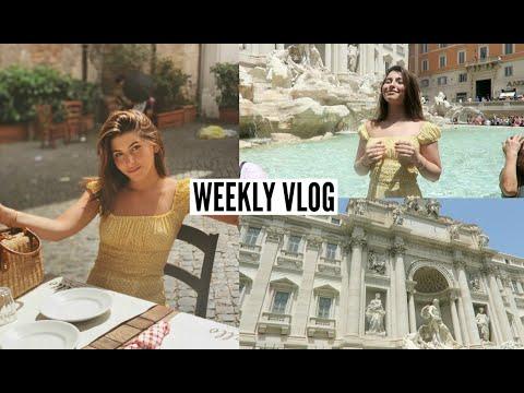 VLOG- My week in Rome