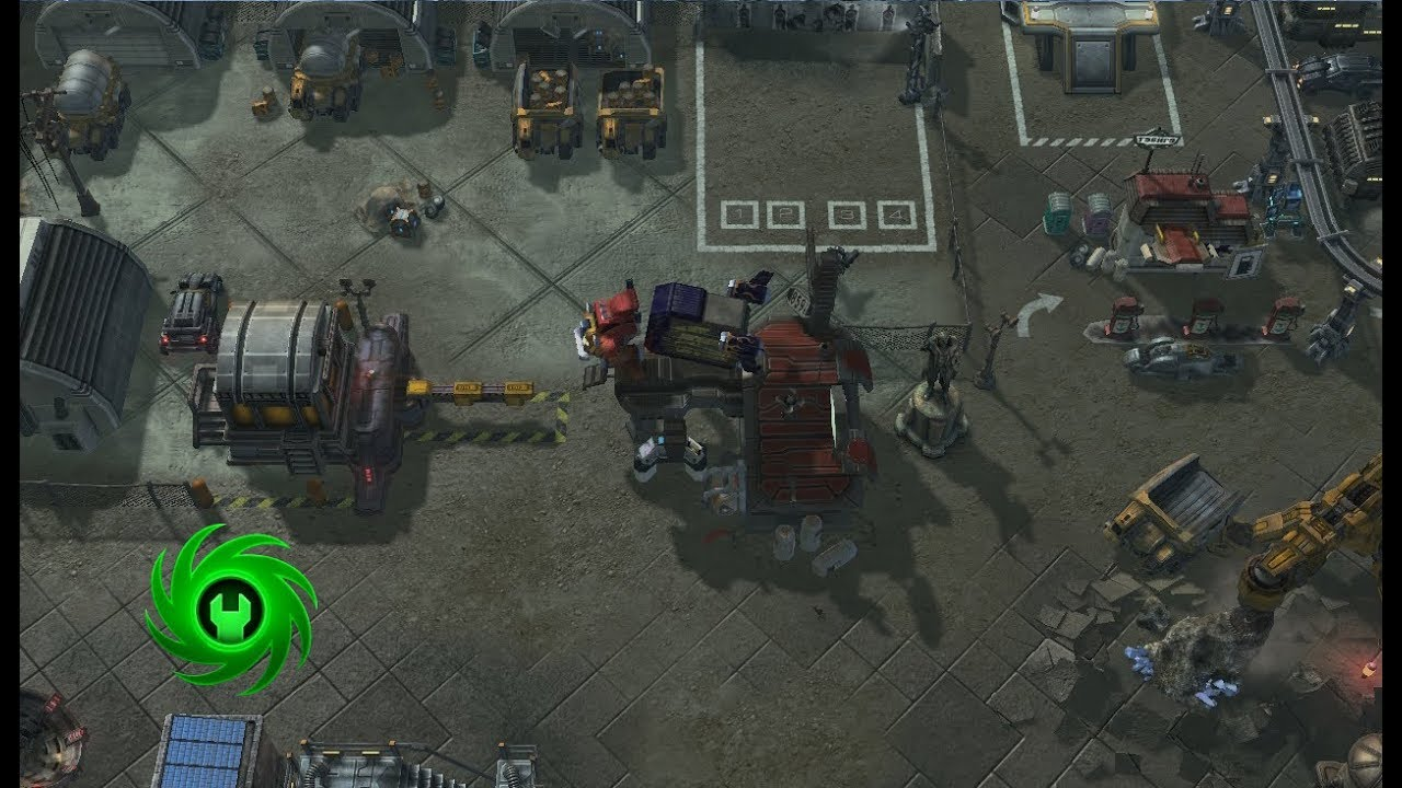Mapping in Starcraft 2 Editor «Prison» ( time lapse)