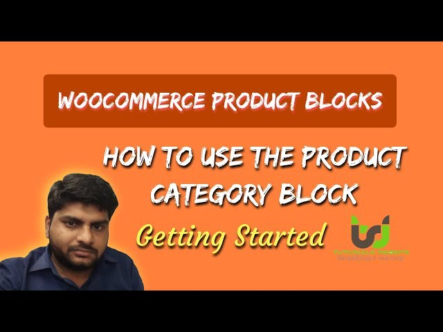 How to use the Product Category Block   WooCommerce Product Blocks Feature