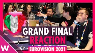 Eurovision 2021: Live reaction to grand final results.
