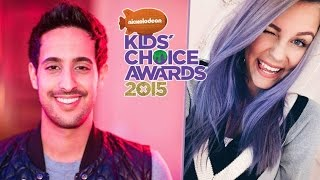 Kid choice awards 2015 - Sami Slimani vs. Dagibee