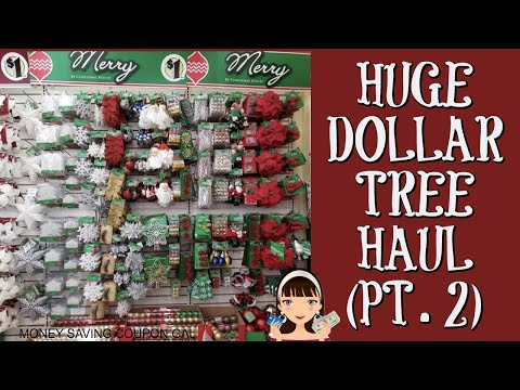 HUGE DOLLAR TREE HAUL (PT.2)
