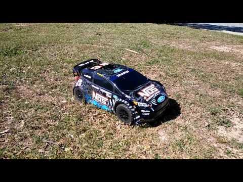 Traxxas Ford Fiesta ST Rally 1st Run (Stock Out Of Box) - Deegan 38 Fiesta ST Rally