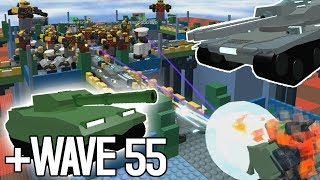NEW TANKS TOWER/WAVE 55 | Tower Defense Simulator ROBLOX