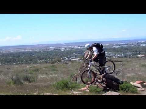 Mountain biking Table Rock Technical