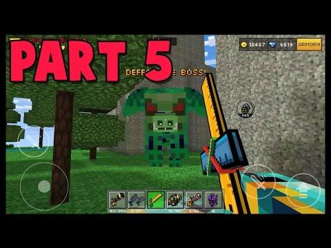 Flying Zombie Pig! - Pixel Gun 3D Campaign (Part 5)
