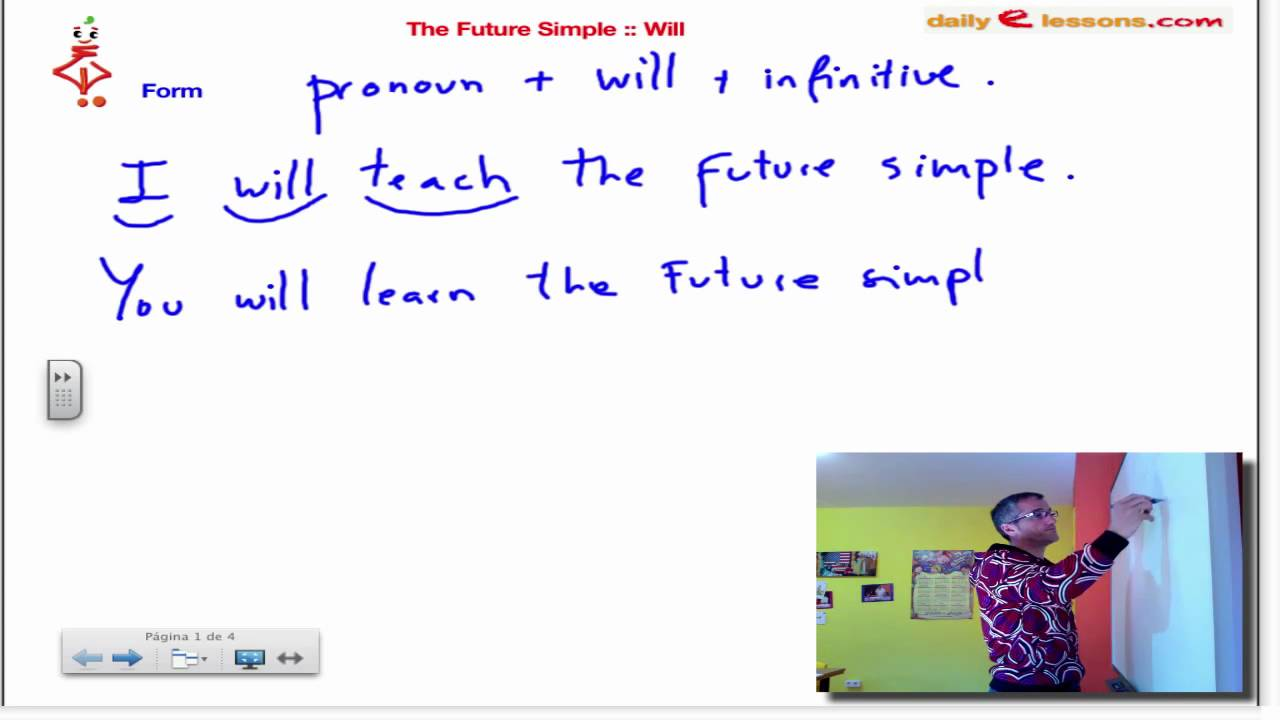 FUTURE SIMPLE Will Part 1 YouTube – Simple Will Form