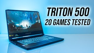 Acer Triton 500  2080 Max-q  Gaming Benchmarks - 20 Games Tested!