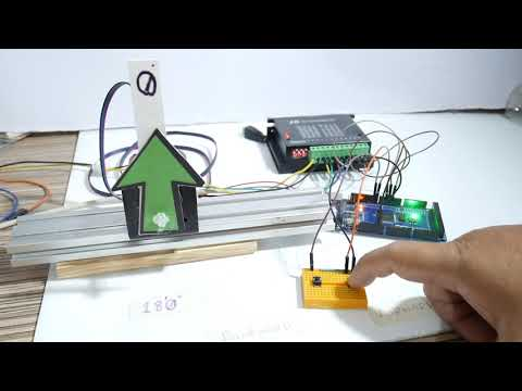 Stepper motor direction control (180 degree) using 2 buttons with the Arduino - zonemaker.com