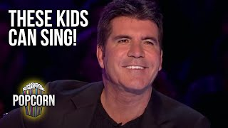 5 Kid Singers That Will Blow Your Mind! Emotional & Amazing Britain's Got Talent Auditions!