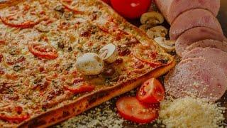 Как сделать вкусную пиццу?Видео урок.Пошаговый рецепт