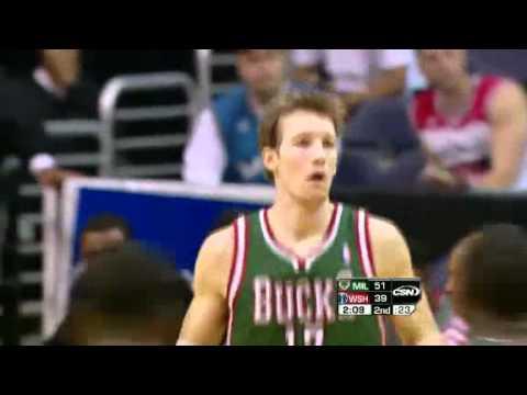 NBA Milwaukee Bucks Vs Washington Wizards(April 02,2012)Match RECAP