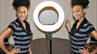 LimoStudio Ring Light | Unboxing & Demo