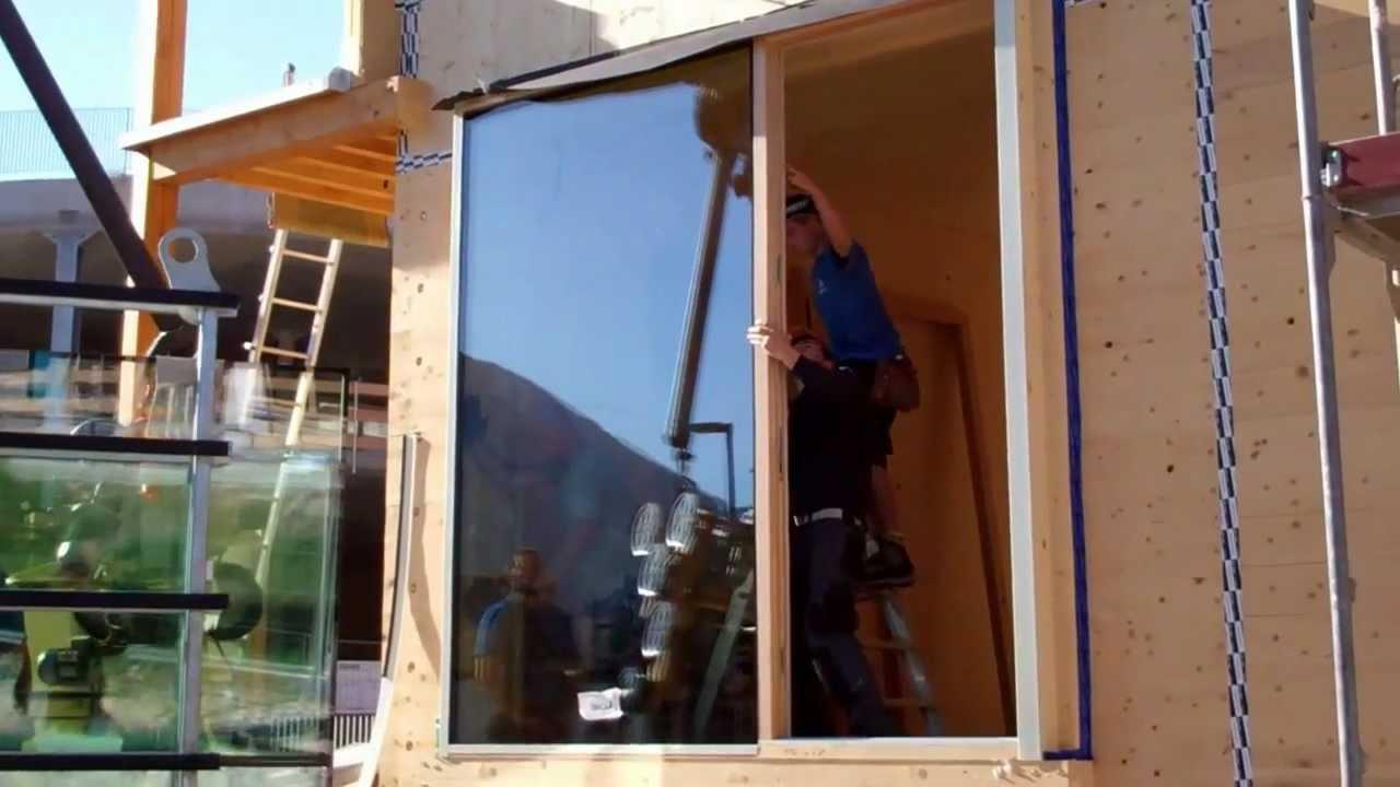 Costruzione case in legno masiccio casa salute bolzano for Piani casa economica da costruire