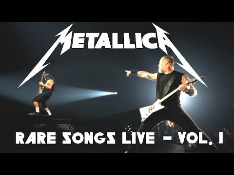 10 Rare Metallica Songs Played LIVE - Vol. 1
