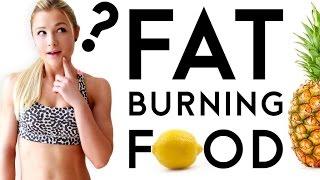 Fatburner Lebensmittel | Abnehmen durch bestimmte Lebensmittel? | Sophia Thiel
