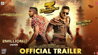 Dabangg 3 | Trailer | Chulbul Pandey is Back | Salman Khan | Sonakshi Sinha | Prabhu Deva | 20th Dec