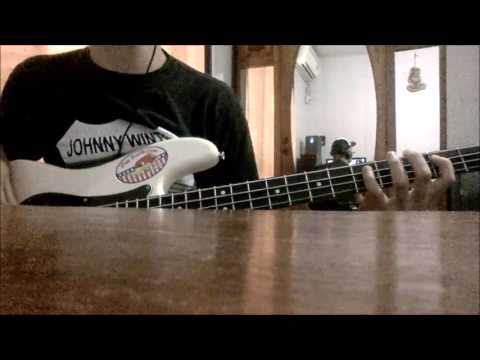 David Allan Coe - You never even called me by my name bass cover