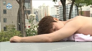 [I Live Alone] 나 혼자 산다 - Jang Woo-hyuk, Put to sleep while tanning~ 20160722